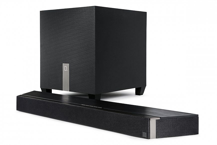 Definitive Studio 3D Mini - Compact Soundbar with Dolby Atmos and DTS: X