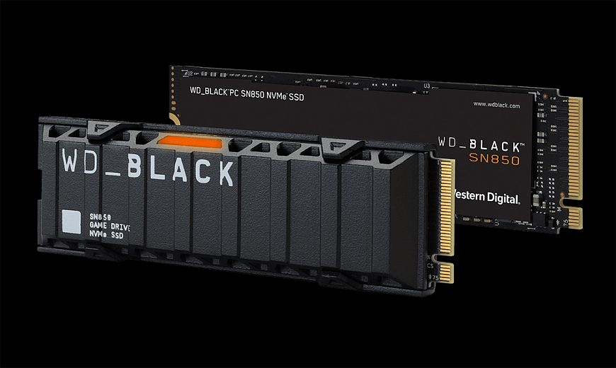 WD_Black SN850 - SSD for gaming battles