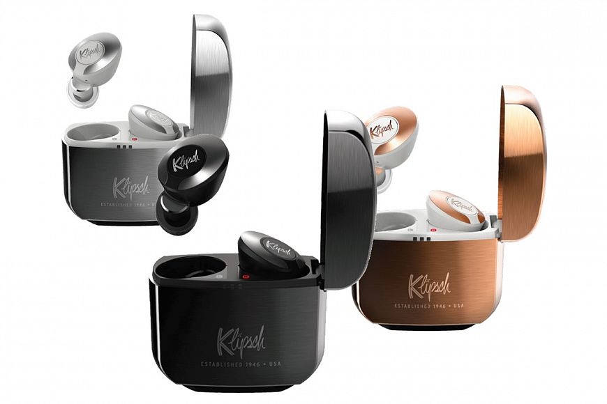 Klipsch TWS earbuds with noise canceling and sound optimization from Dirac