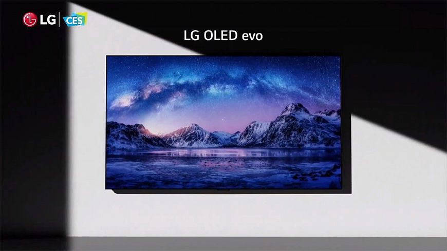 New LG OLED TVs at CES 2021