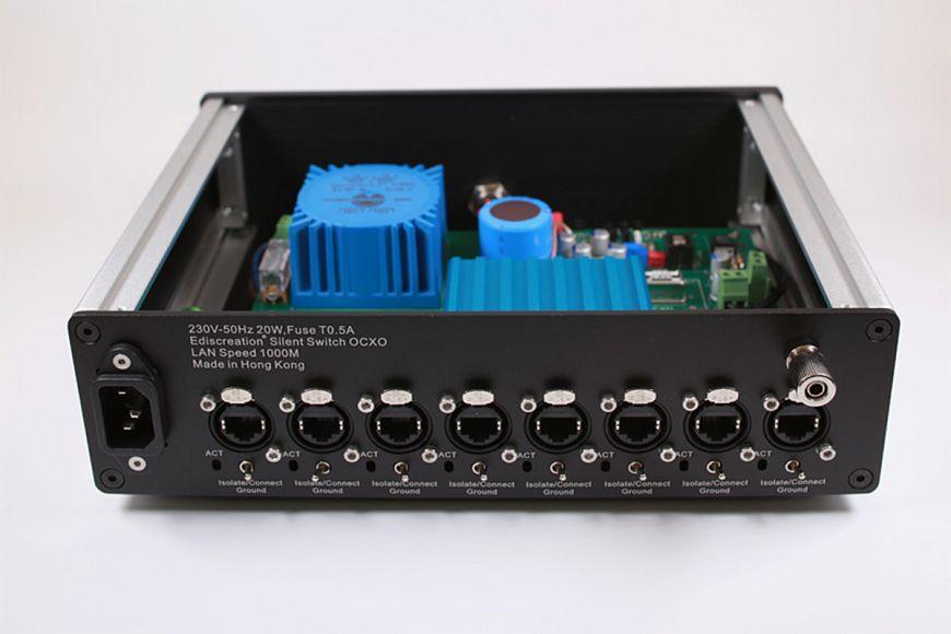 Ethernet Switch N&E Audio Silent Switch OCXO