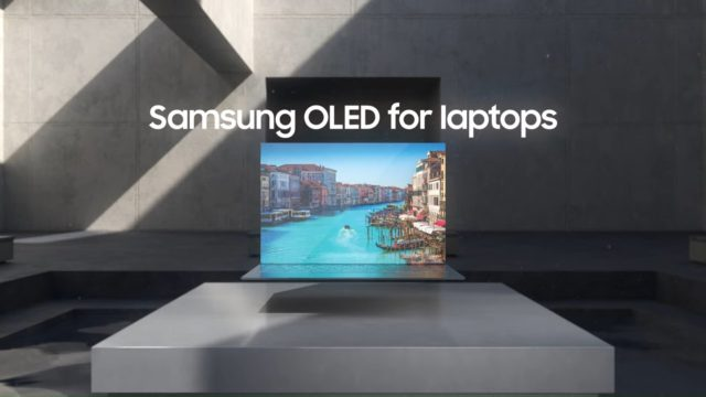 samsung oled screen for laptops
