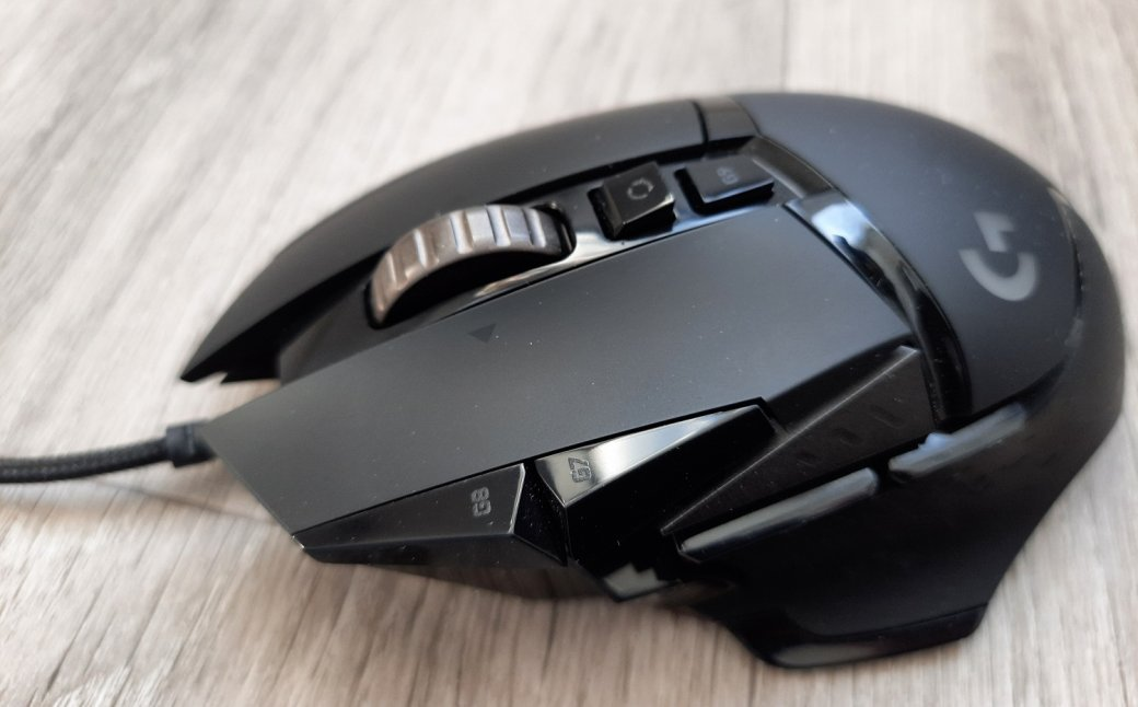Logitech G502 Hero Gaming Mouse Review - Guest From The Future | techweekmag.com - Picture 4