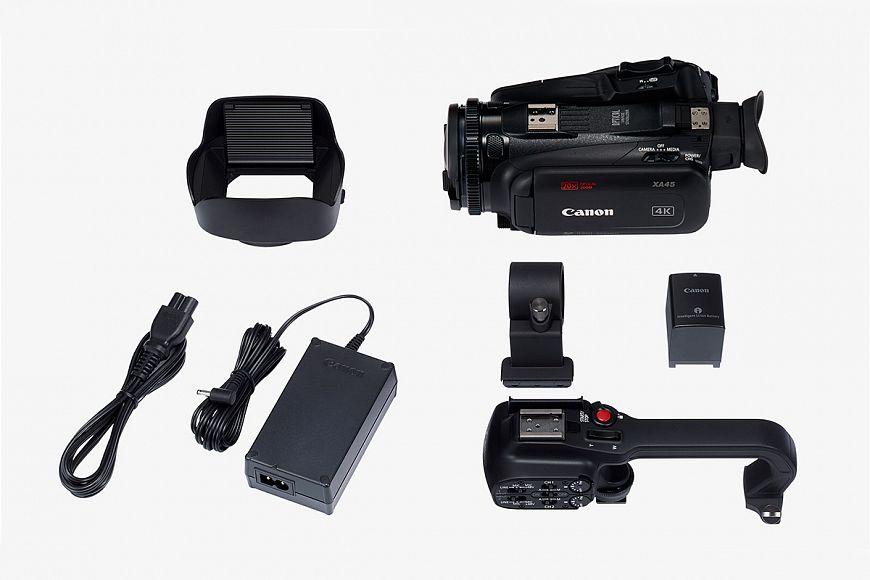 Canon XA45 - compact 4K camcorder