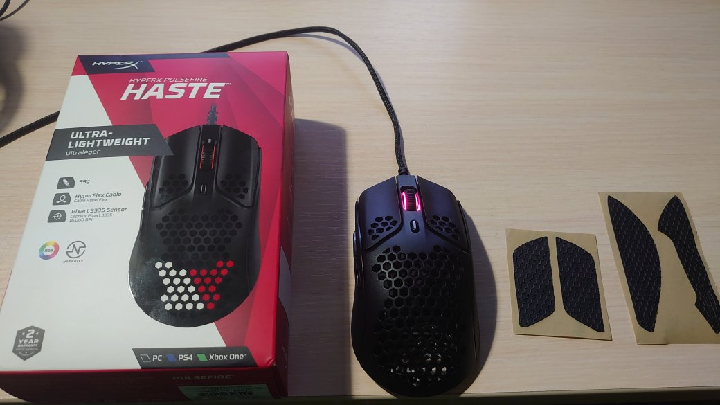 HyperX Pulsefire Haste Review - Ultralight Gaming Mouse | Techweekmag - Picture 1