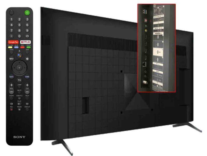 Sony X90J interfaces
