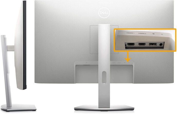 Dell S2721QS - Switching