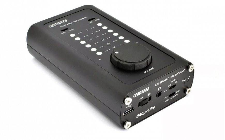 CEntrance DACport Pro - compact DAC with AKM chips