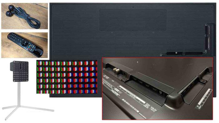LG OLED G1 interfaces