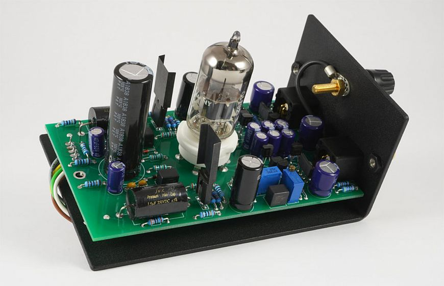 Holborne Passion - hybrid integrated amplifier with replaceable phono stage