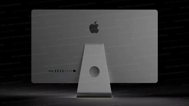 New design for all-in-one iMac (2021)