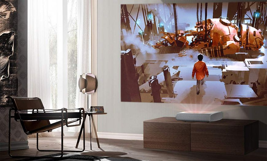 Samsung premiere - a projector that fits into any interior