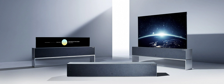 The start of sales of the unique folding TV LG Signature OLED TV R all over the world, including Russia
