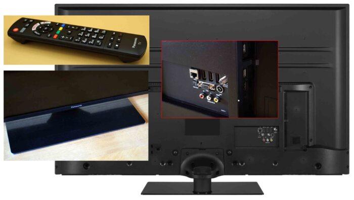 Panasonic HXR700 interfaces