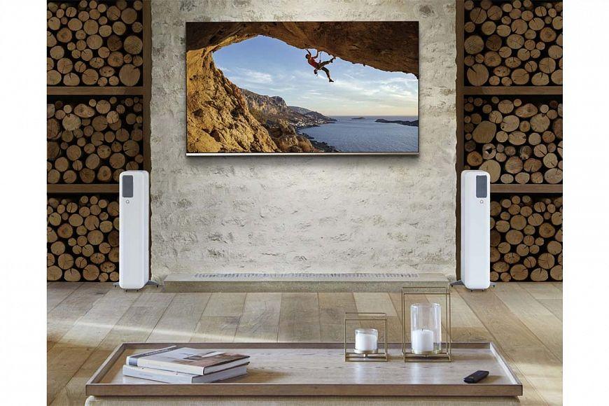 Q Active 400 - wireless floor-standing speakers from Q Acoustics
