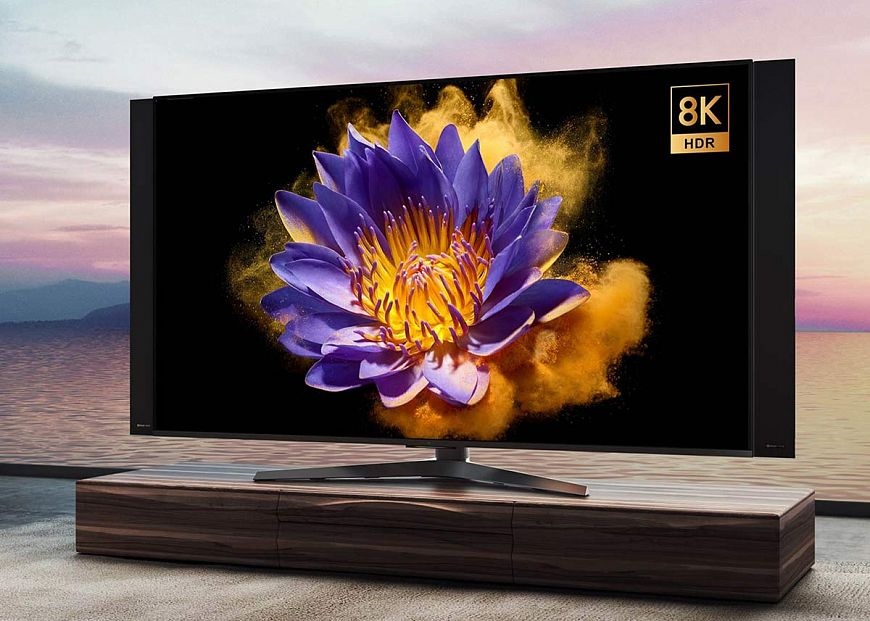 3. If you are planning to change TV - swing at the 8K display