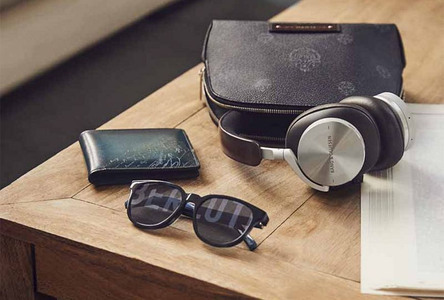Joint collection of Berluti and Bang & Olufsen