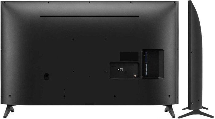 LG 55UP7600 design