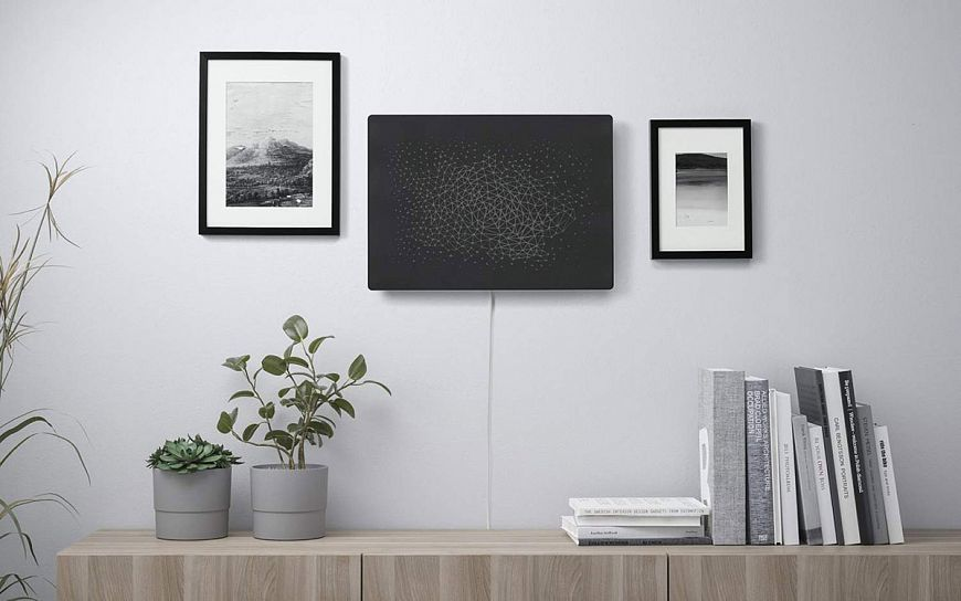 IKEA and Sonos launch Symponiks wall-mounted speaker