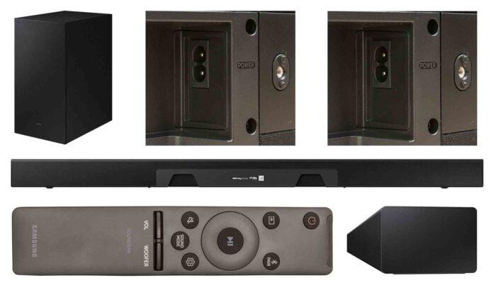 Samsung HW-A450 interfaces