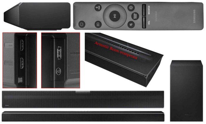 Samsung HW-Q600A interfaces