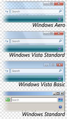 vista visual styles comparison