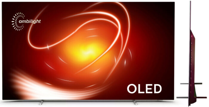 Philips OLED806 - design