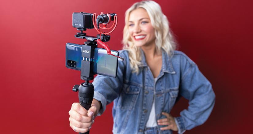 rode vlogger kit zruchni komplekti dlja strimingu zi smartfoniv 5