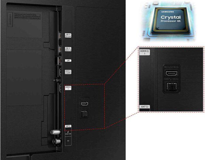 Samsung AU55AU9070 interfaces