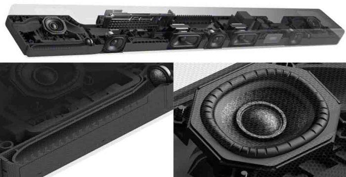 Sony HT-A5000 design